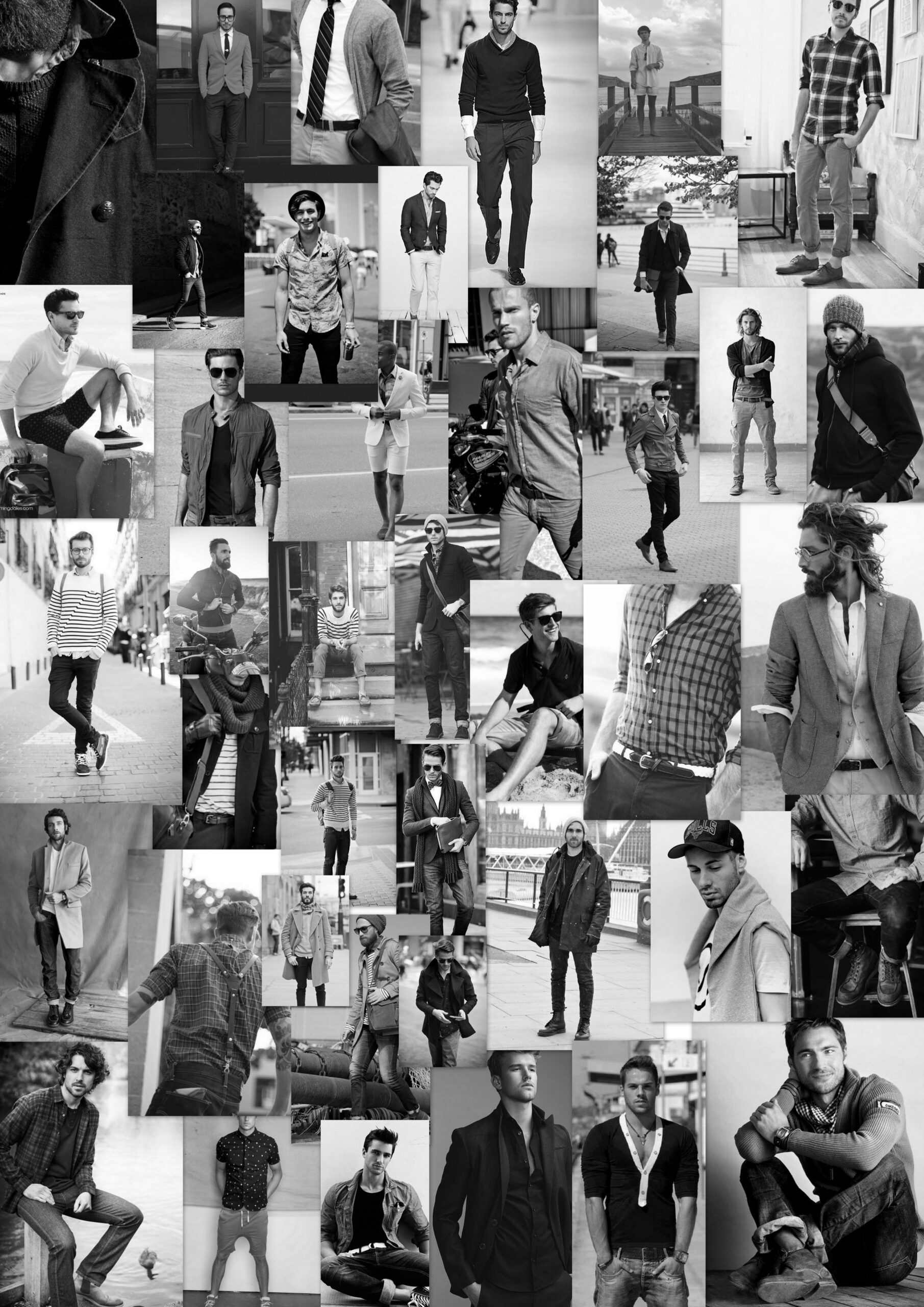 Mens clothing inspiration for DesignByU. Inexpensive sustainable Fashion inspo for private labels.